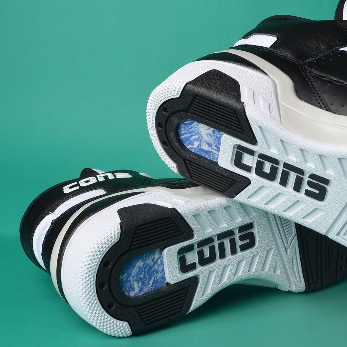 Tênis Converse ERX 260 Mid Black Mouse White 166325C