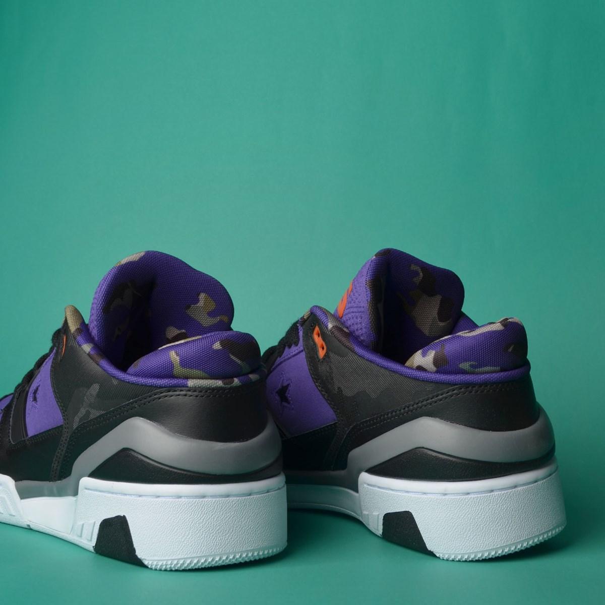 Tênis Converse ERX 260 Ox Court Purple Black White 165908C
