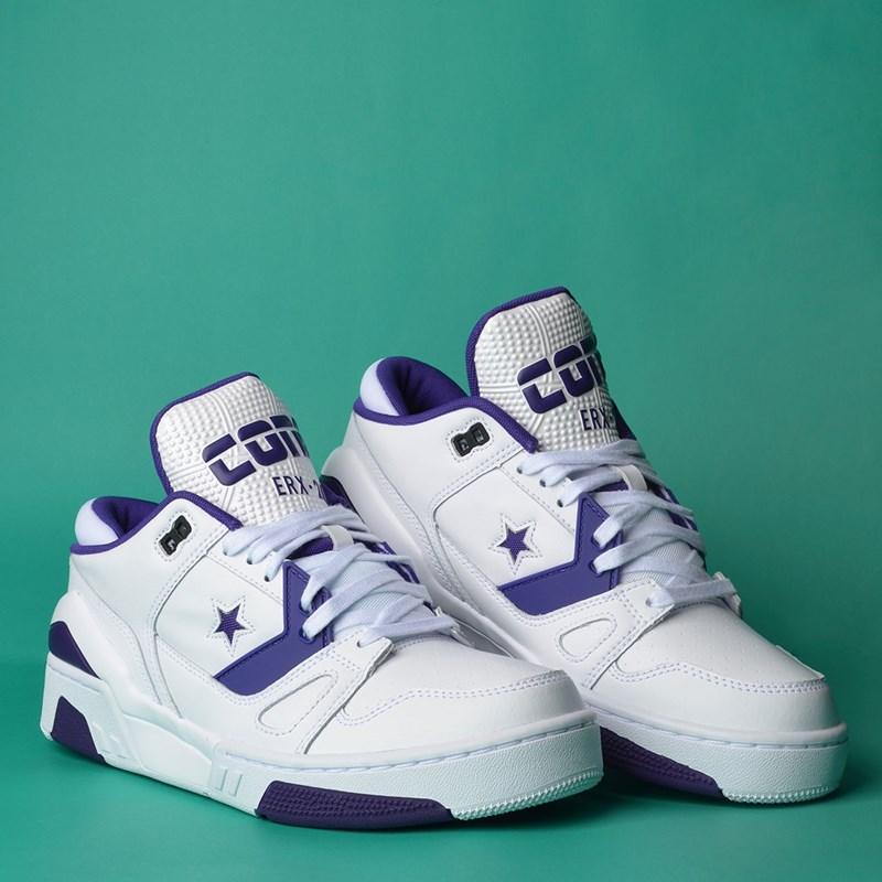 Tênis Converse ERX 260 Ox White Court Purple White 165910C