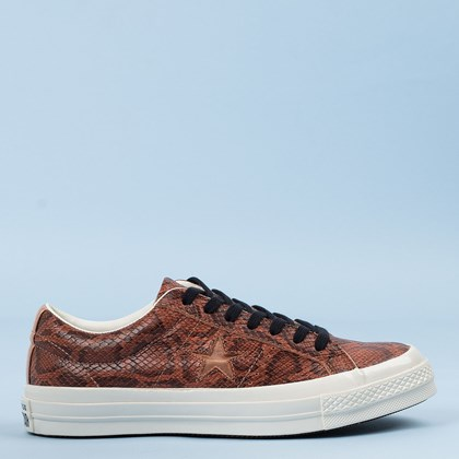 Tênis Converse One Star Archive Reptile Marrom Telha CO03460002