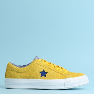 Tênis Converse One Star Ox Amarillo Rush Blue 166848C