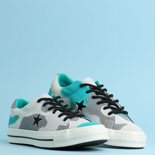 Tênis Converse One Star Ox Vintage White Turbo Green 165917C