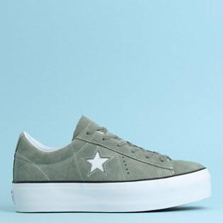 Tênis Converse One Star Platform Ox Vintage 564383C