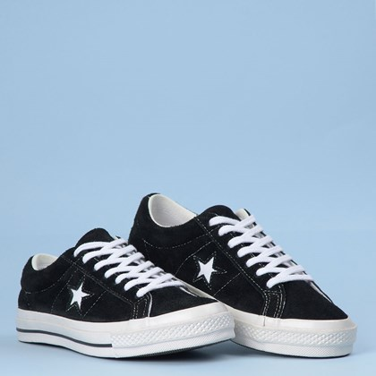 Tênis Converse One Star Preto Branco CO02600001