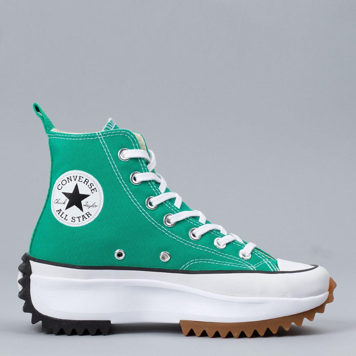 Tênis Converse Run Star Hike Hi Canvas Color Court Green White Gum 170441C