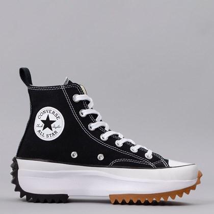 Tênis Converse Run Star Hike Hi Foundational Canvas Black White 166800C