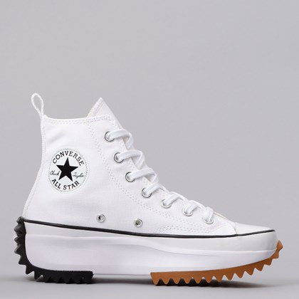 Tênis Converse Run Star Hike Hi Foundational Canvas White Black 166799C