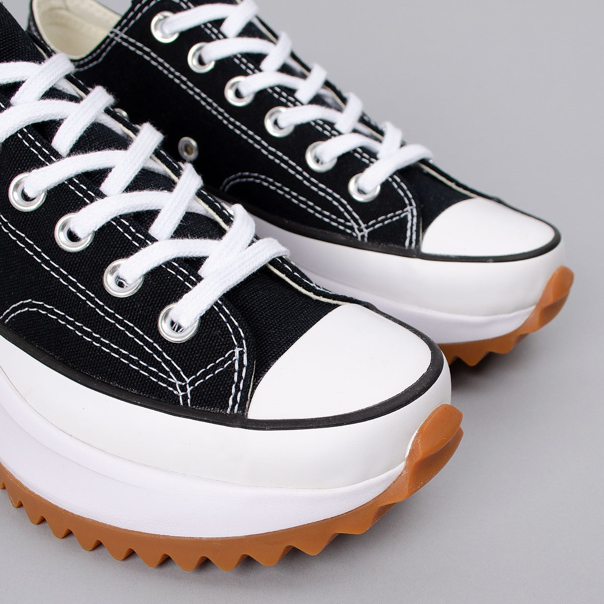 Tênis Converse Run Star Hike Ox Foundational Canvas Black White 168816C