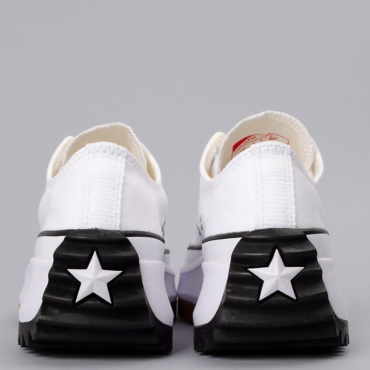 Tênis Converse Run Star Hike Ox Foundational Canvas White Black 168817C