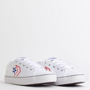 Tênis Converse Star Replay Branco Vermelho Azul CO02790001