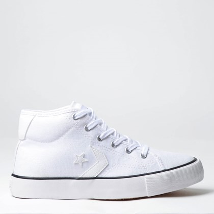 Tênis Converse Star Replay Mid Branco Branco CO02530002