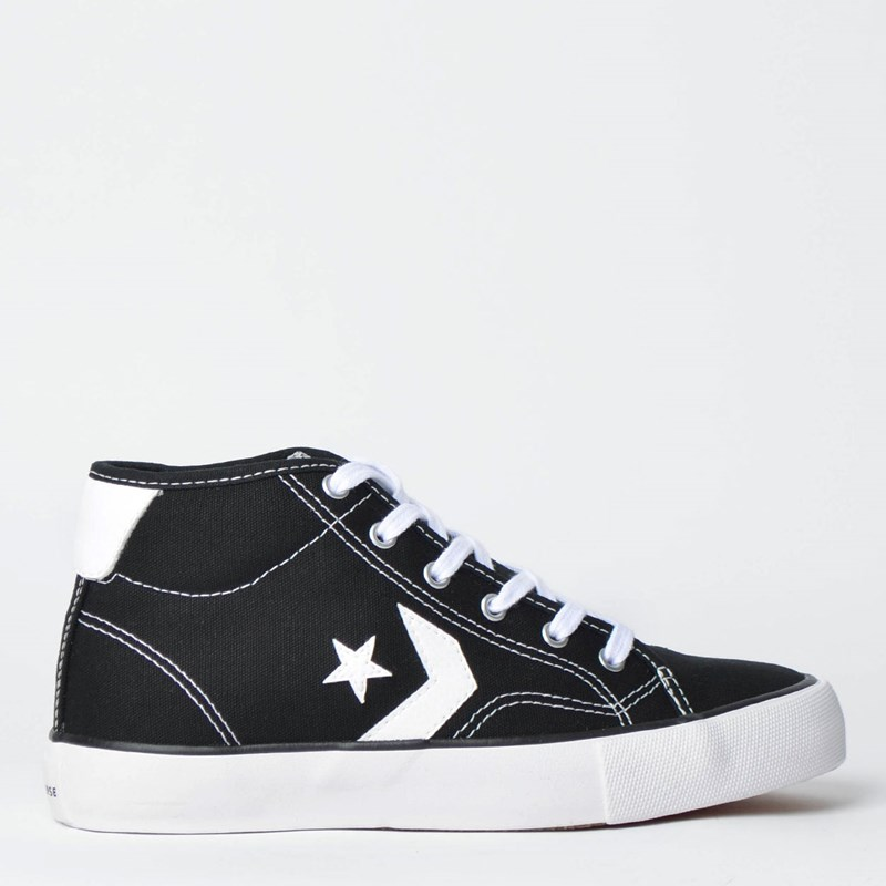 Tênis Converse Star Replay Mid Preto Branco CO02530001
