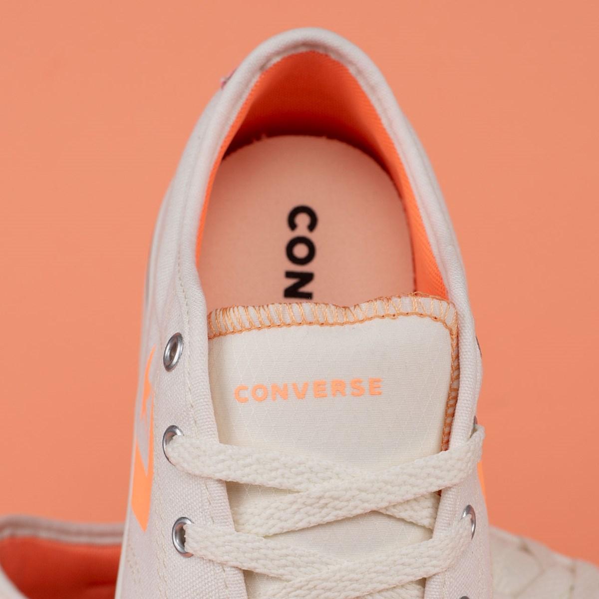 Tênis Converse Star Replay Platform Ox Bege Claro CO03170002