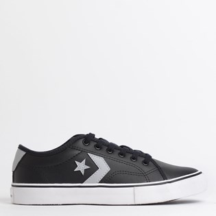 Tênis Converse Star Replay Preto Cinza Cimento CO02870001