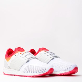 Tênis e Meia New Balance All Day White Stance Collaboration MRL247CO