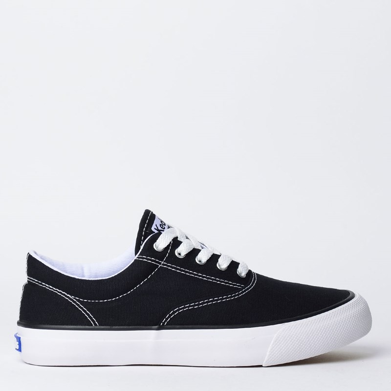 Tênis Keds Anchor Canvas Preto KD1180001