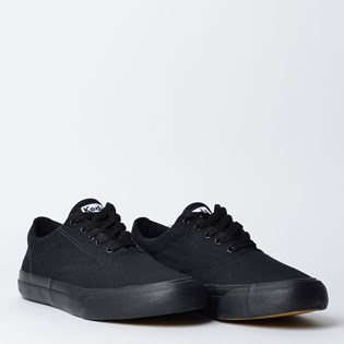 Tênis Keds Anchor Canvas Preto Preto KD1180231