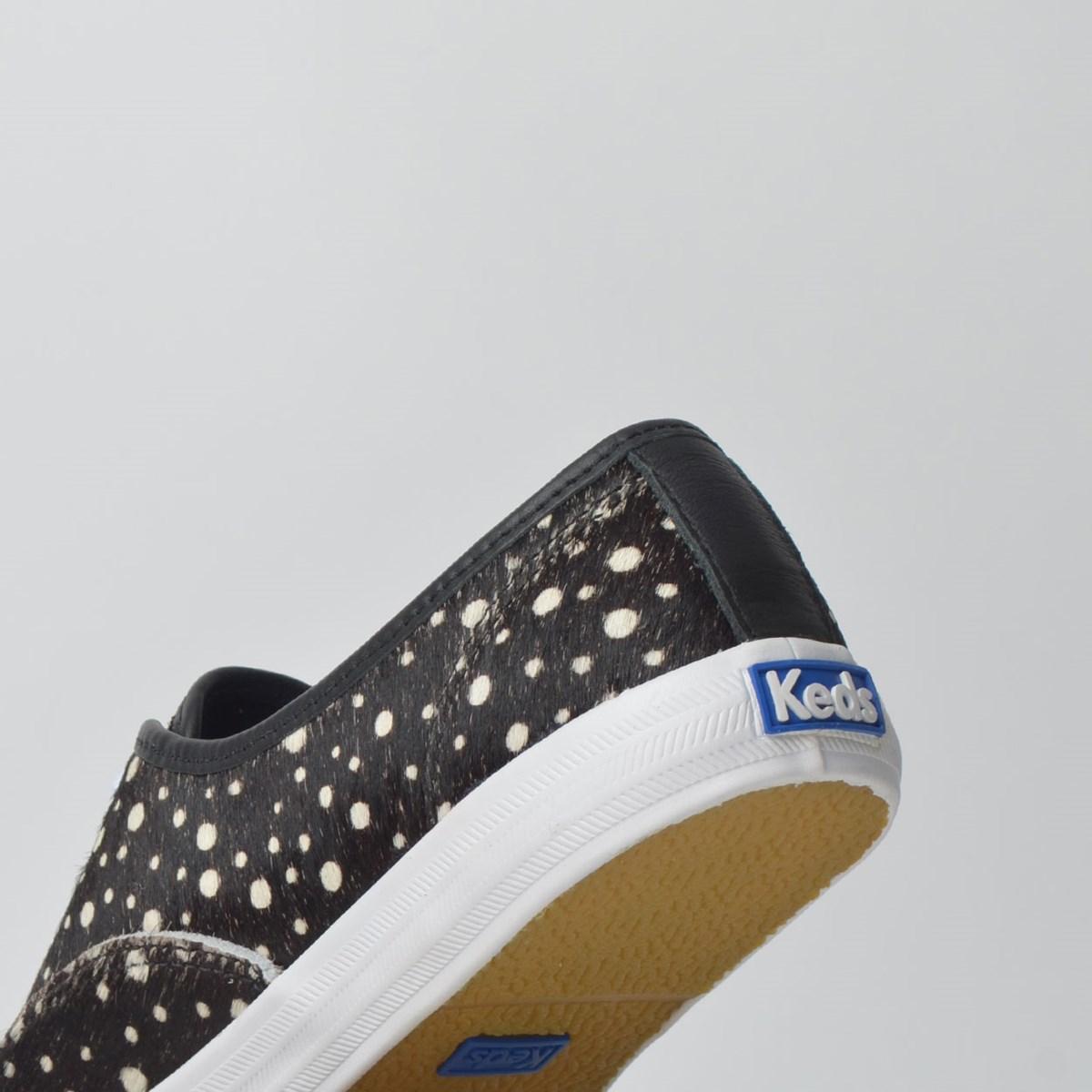 Tênis Keds Champion Animal Print Preto Branco KD178143