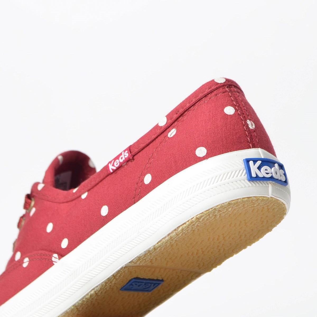 Tênis Keds Champion Dots Grena KD13891171
