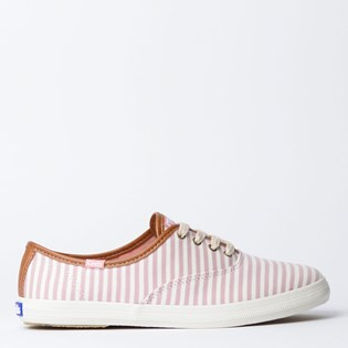 Tênis Keds Champion Stripes Rose KD1202987