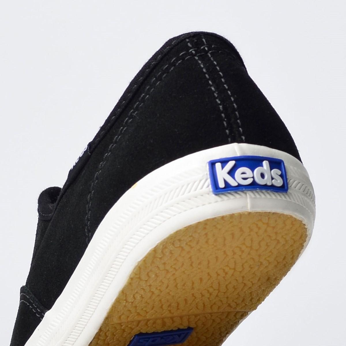 Tênis Keds Champion Suede Preto Branco KD265143
