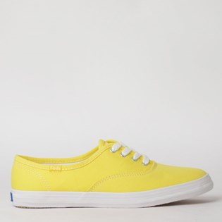 Tênis Keds Champion Woman Canvas Amarelo KD100011