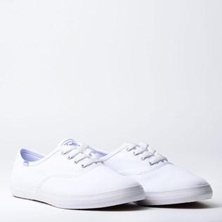 Tênis Keds Champion Woman Canvas Branco Branco KD100256