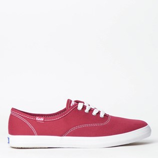 Tênis Keds Champion Woman Canvas Grena KD1001171