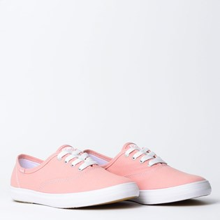 Tênis Keds Champion Woman Canvas Rose KD100987