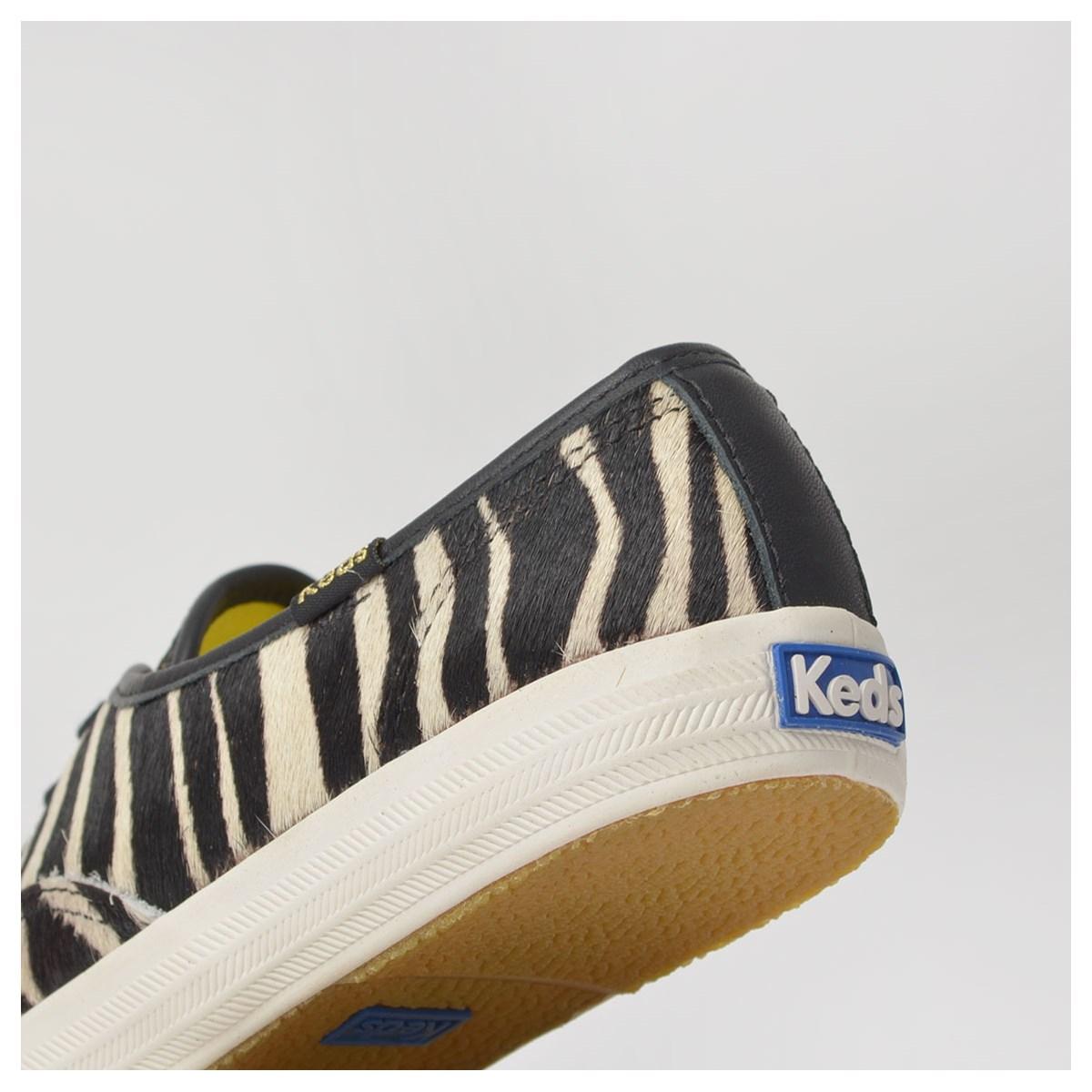 Tênis Keds Champion Zebra Branco Preto KD1451208