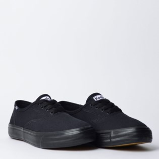 Tênis Keds Double Dutch Canvas Preto Preto KD244231