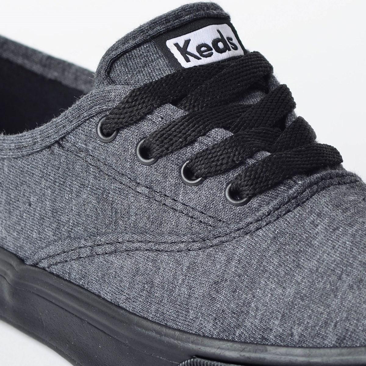 Tênis Keds Double Dutch Jersey Preto Preto KD375231