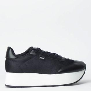 Tênis Keds Jogging Hi Hanna Preto KD1399001