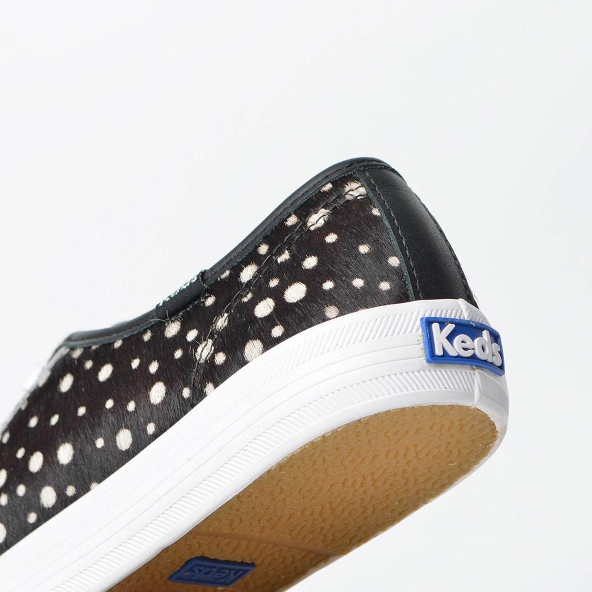 Tênis Keds Kickstart Animal Print Preto Branco KD1383143
