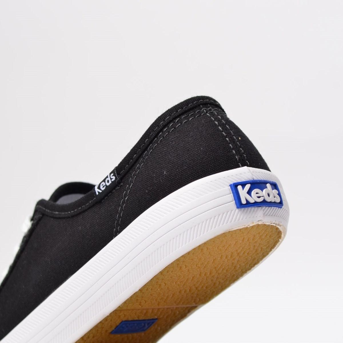 Tênis Keds Kickstart Canvas Preto KD1074001