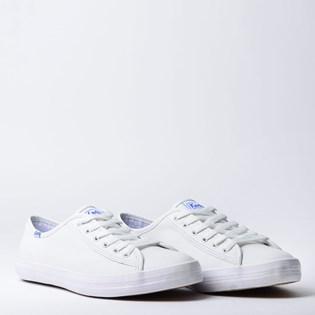Tênis Keds Kickstart Leather Branco KD1219002