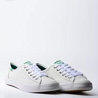 Tênis Keds Kickstart Perf Leather Branco KD810002