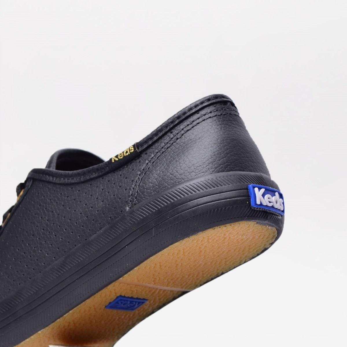 Tênis Keds Kickstart Perf Leather Preto KD810001