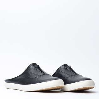 Tênis Keds Moxie Mule Wax Leather Preto KD1198001