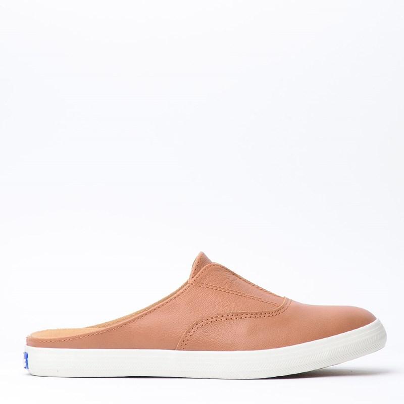 Tênis Keds Moxie Mule Wax Leather Tan KD1198806