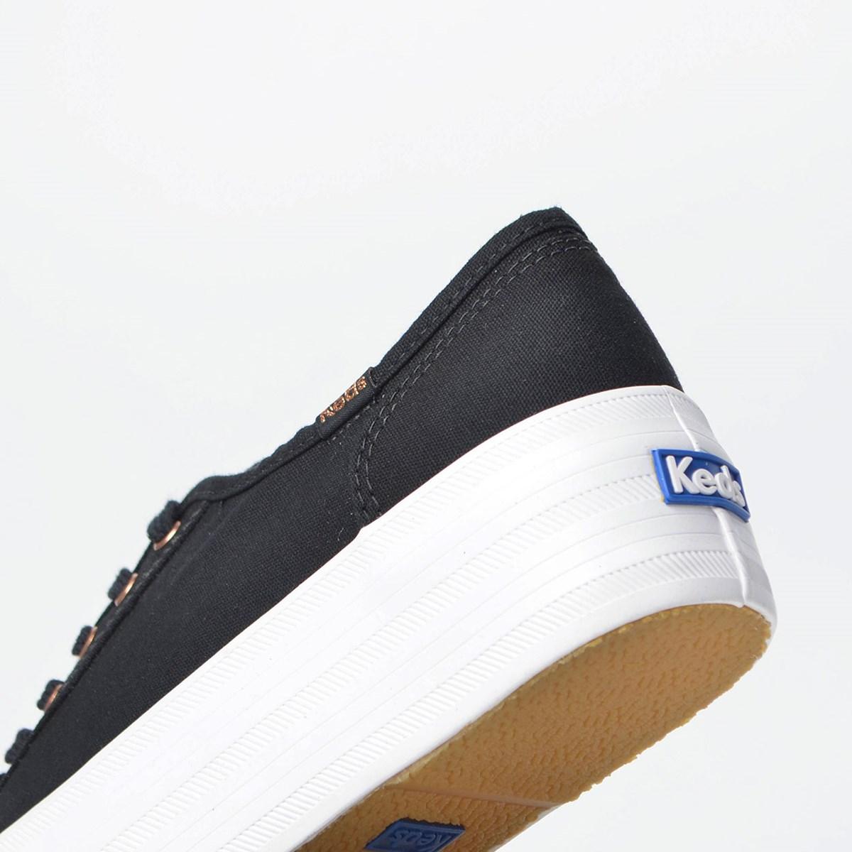 Tênis Keds Plataform Kick Canvas Preto KD1377001