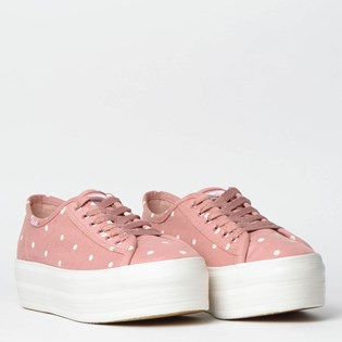 Tênis Keds Plataform Kick Dots Rose KD1403987