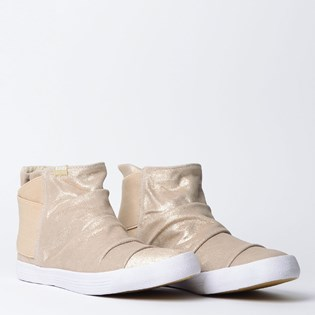 Tênis Keds Topkick Boot Gliter Suede Ouro KD1302411
