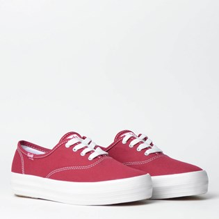 Tênis Keds Triple Canvas Grena KD7621171