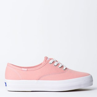 Tênis Keds Triple Canvas Rose KD762987