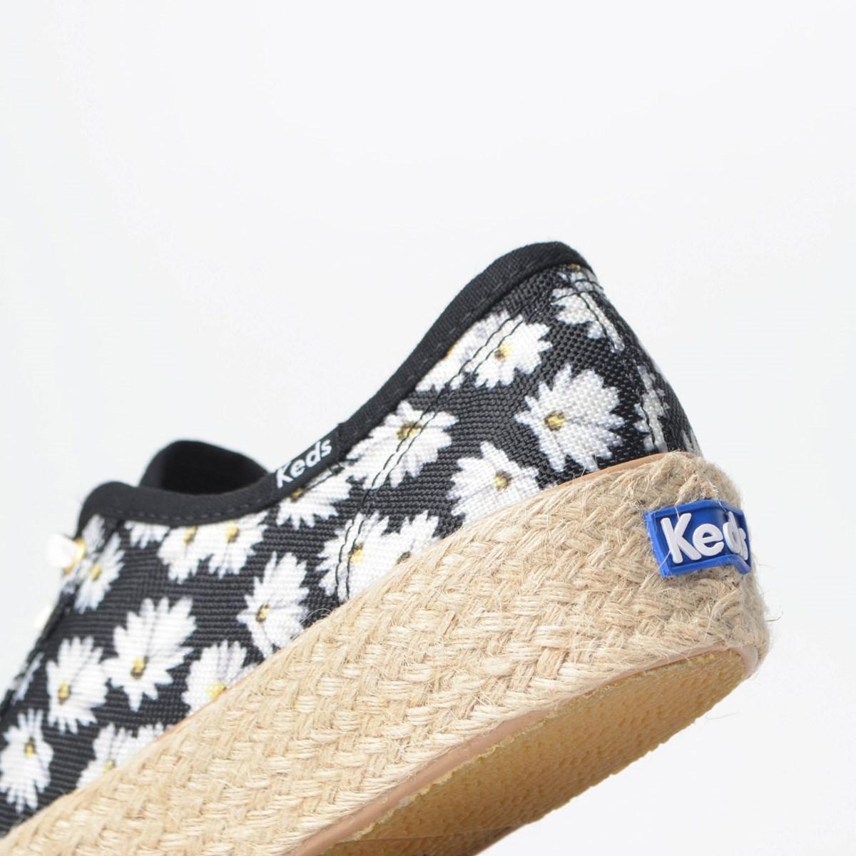 Tênis Keds Triple Kick Daisy Preto KD1368001