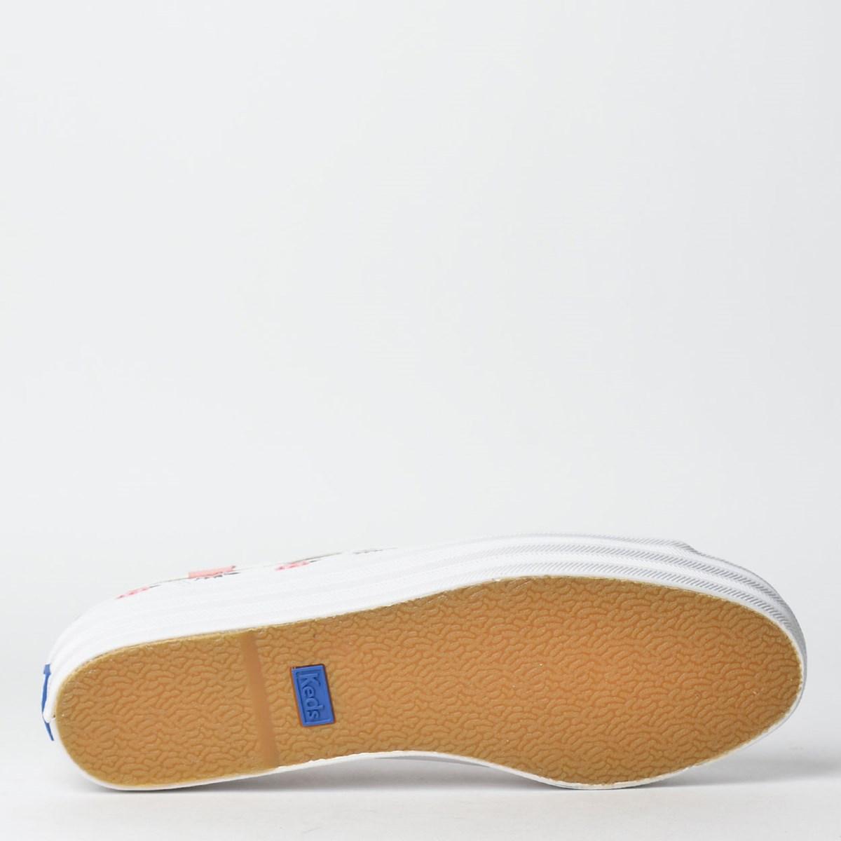 Tênis Keds Triple Kick Milla Branco KD1348002