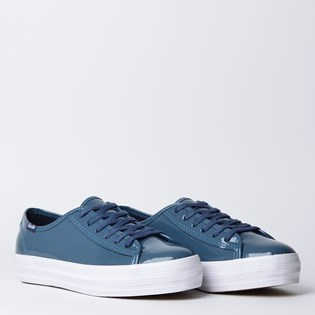 Tênis Keds Triple Kick Patent Denim KD1308721