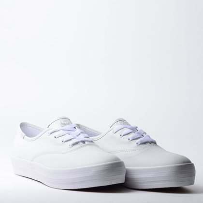 Tênis Keds Triple Leather Branco KD1033002