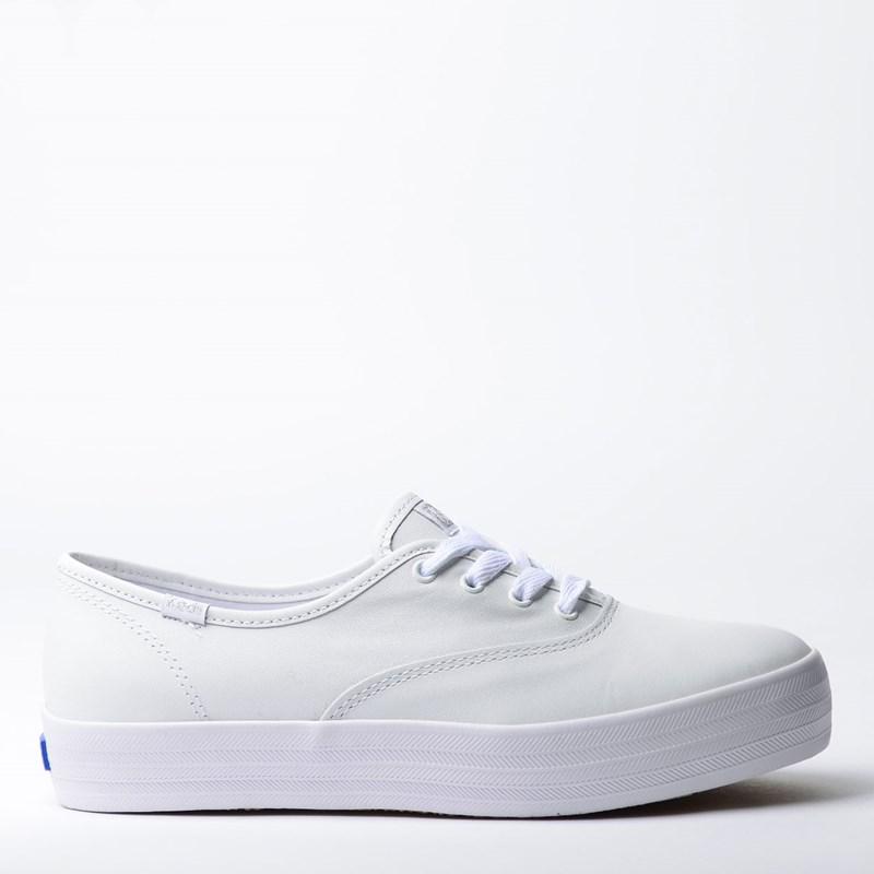Tênis Keds Triple Leather Branco KD1033002